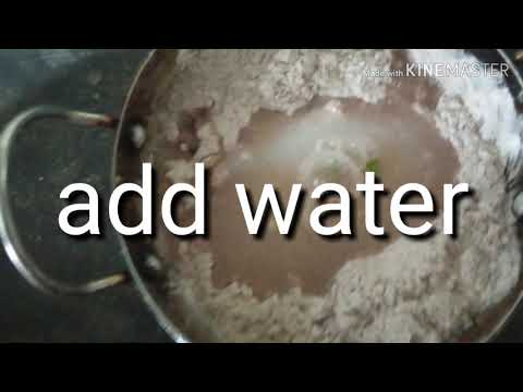 Weight loss finger millet roti@home in telugu(రాగి రోటి)