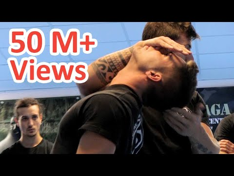 KRAV MAGA TRAINING • End a fight in 3 seconds! thumbnail