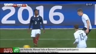 Взрыв во время матча: Франция — Германия ПЕРВОЕ ВИДЕО со стадиона(Одна из атак в Париже произошла близ стадиона «Стад де Франс». Болельщики сначала приняли взрыв за петарду...., 2015-11-14T04:04:59.000Z)