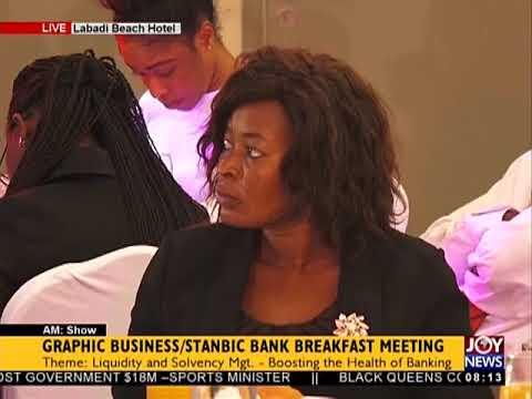 Graphic Business/Stanbic Bank Breakfast Meeting [Part 2] - AM Business on JoyNews (15-5-18)