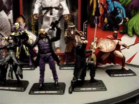 My G.I. Joe Customs - The Matrix - Neo, Trinity, Morpheus