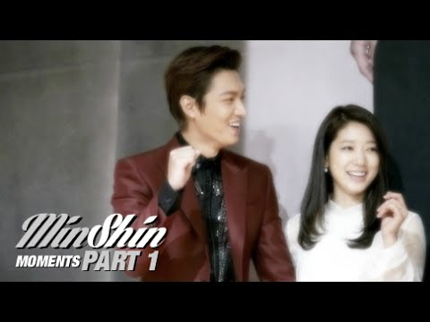 "MinShin Moments - Part 1 - ""The Heirs"" Press Conference Day - 2013.10.07"