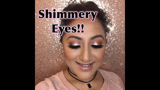 Pink-Gold Shimmery Eyes ** B Beautiful by Binita **
