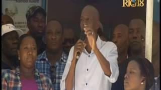 Le Président Jovenel Moïse en visite à Maïssade