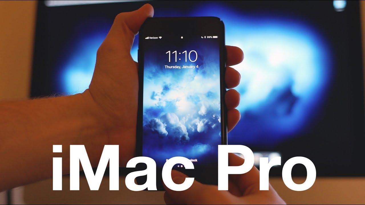 New Imac Pro Wallpapers Look Amazing On Iphones