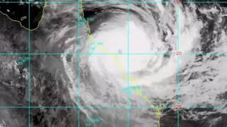 Cyclone Debbie Makes Landfall on Australia
