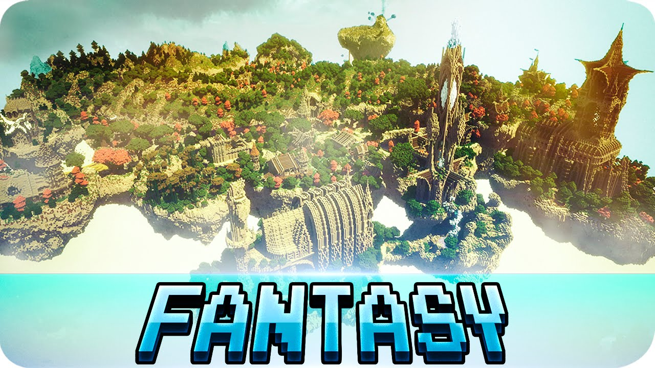 Minecraft medieval fantasy city map w download youtube