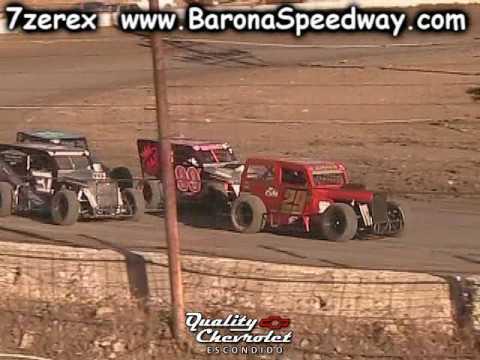 Dwarf Car Heat 1 Barona Speedway 5-20-2017