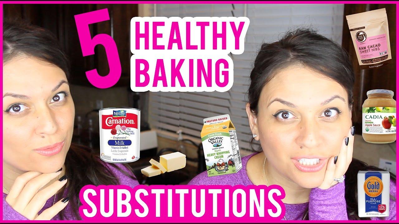 BAKING HACKS | 5 HEALTHY BAKING SUBSTITUTIONS | LIFE HACKS - BACKEN HACKS