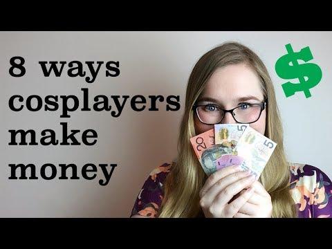 8 ways cosplayers make money