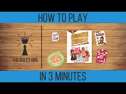 How to Play Monster Crunch! The Breakfast Battle Game in 3 Minutes - The Rules Girl