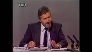 Ion Iliescu 1992 electoratul care si a exprimat deja o anumita optiune
