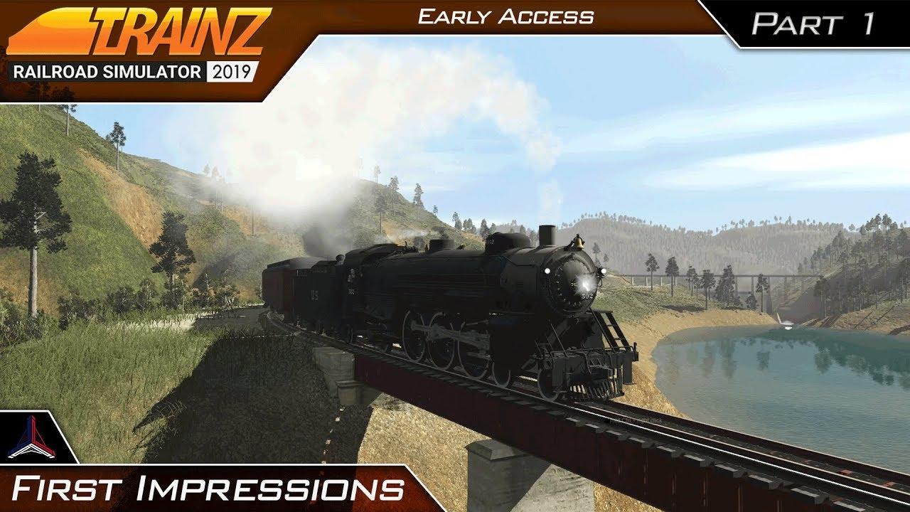 Trainz Railroad Simulator 2019 Download Free