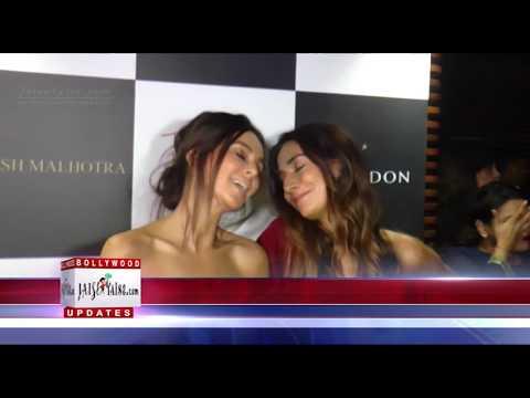 Monica Dogra & Shibani Dandekar at LAUNCH...