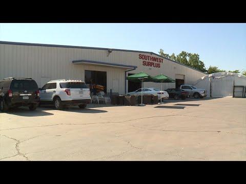 Southwest Surplus Having Sale To Empty Warehouse