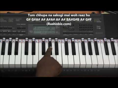 Jaanam Dekh Lo - Veer Zaara - Piano...