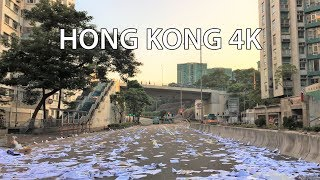 Hong Kong Protests Aftermath 4k