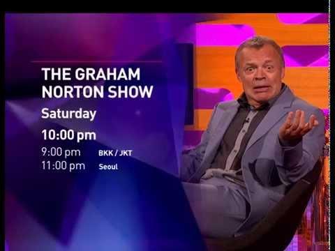 The Graham Norton Show - Season 17 Launch for BBC Entertainment,  BBC Asia. Voice Over Gavin Inskip