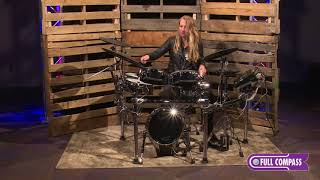 Roland TD-50KV-FC Full Compass Exclusive V-Drum Kit Playing Demo | Full Compass