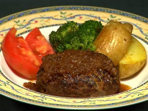 How To Make Hamburg Steak (Recipe)   Cooking With Dog