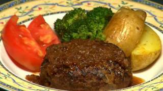 How To Make Hamburg Steak  Recipe  | Cooking With Dog