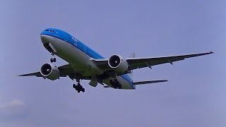 KLM Asia B777-200 PH-BQL Touch and Go at Groningen Airport Eelde