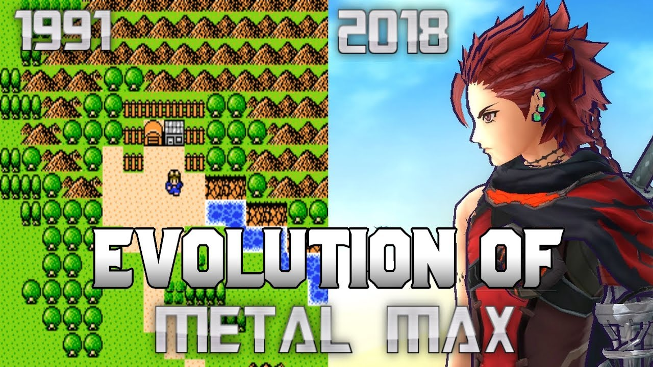 Graphical Evolution of Metal Max (1991-2018)