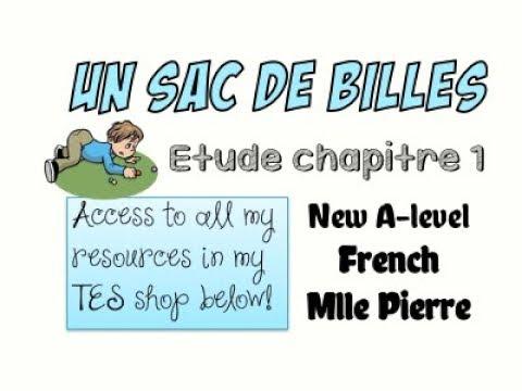 Chapter 1 Un Sac De Billes