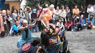 【祭り】和歌山県田辺市神子浜の獅子舞