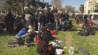 Sokaklar, göçmen avına çıkan insan tacirleriyle doldu... tv100 ekibi onlarla konuştu!