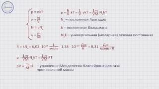 Физика 10 класс. Уравнение состояния идеального газа, уравнение Менделеева