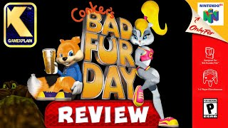 Has Conker's Bad Fur Day Aged Well? - RETRO REVIEW (20th Anniv.) (Video Game Video Review)