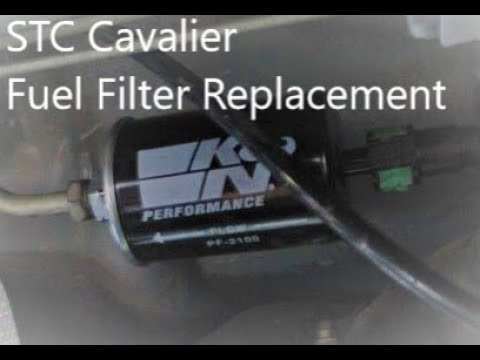 cavalier sunfire fuel filter replacement youtube. Black Bedroom Furniture Sets. Home Design Ideas