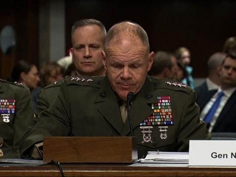 Top Marine Briefs Senators on Nude Photo Scandal