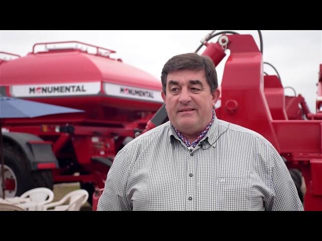 Sembradoras Monumental, Agroactiva 2019, Armstrong (Santa Fe)