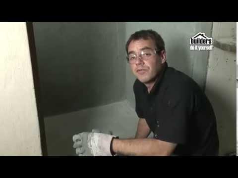 Builders DIY: Painting - Waterproofing your Shower