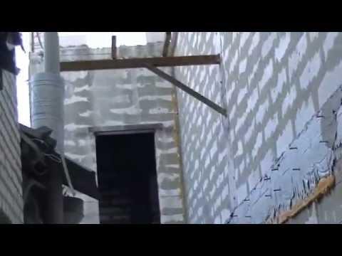 видео: Пример применения ОБРАТНОГО каркаса при газобетонных стенах и монолитных бетонных перекрытиях.