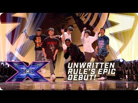 Unwritten Rule's EPIC debut! | X Factor: The Band | The Final