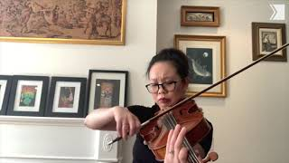 "TSO Viola Diane Leung performs first movement (""Dolce"") of Georg Philipp Telemann's Fantasia No. 7"