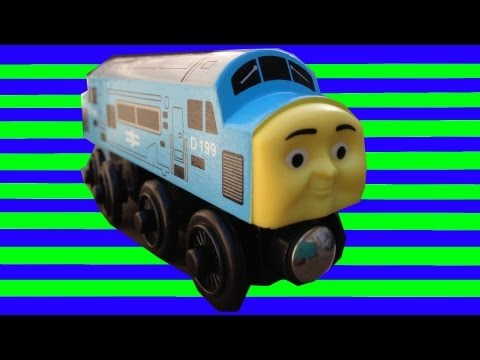 D199 The Diesel - Thomas The Tank Engine & Friends Wooden Toy Railway Review - Character Fridays