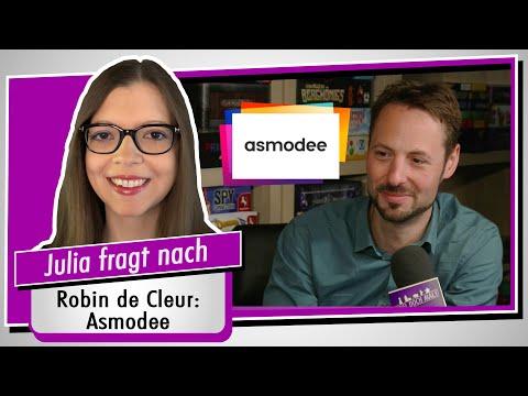 Im Interview: Asmodee - Pressesprecher Robin de Cleur - Spiel doch mal!