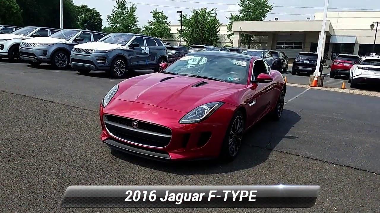 Jaguar Willow Grove >> Certified 2016 Jaguar F Type Base Willow Grove Pa P5531