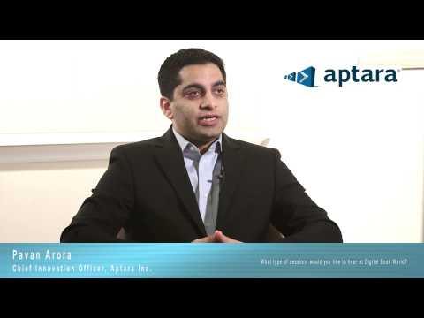 f&w's-president,-interviews-aptara's-chief-innovation-officer,-pavan-arora-at-digitalbook-world-2014
