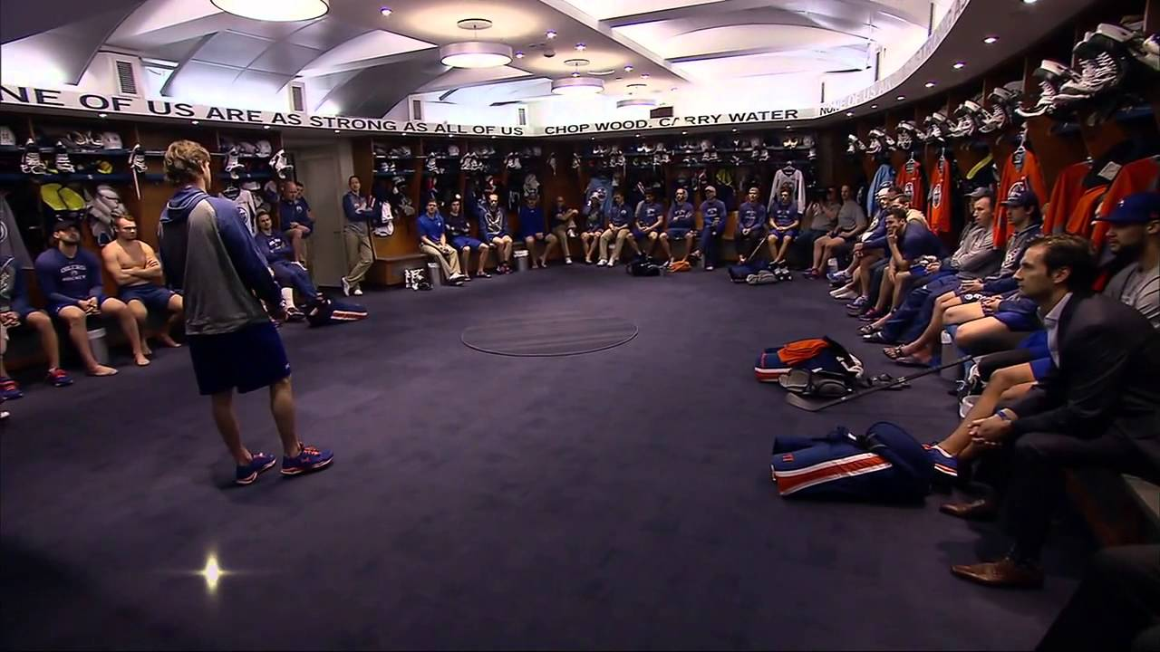Nhl Locker Room To Ice