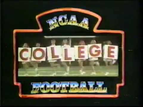 1978 ABC Sports College Football intro Nebraska / Alabama ...