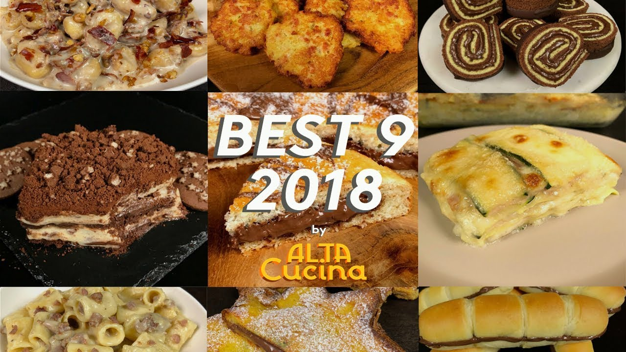 I migliori video del 2018 by Al.ta Cucina [ricette facili by Al.ta Cucina]