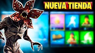 FORTNITE'S NEW STORE TODAY, JULY 5TH NEW SKIN STRANGER THINGS FROM DEMOGORGON AND HOPPER
