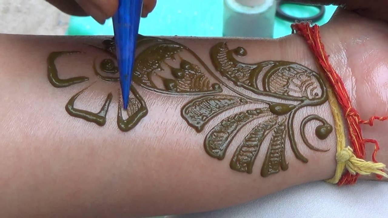 Modern Arabic Mehndi Designs 2014 : Best indian arabic henna mehendi 2014 class: mehndi tutorial step by