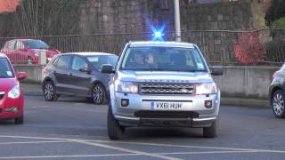 Fire officer responding - Land Rover Freelander(Hereford And Worcester Fire And Rescue Service | Fire Officer's car | Landrover Freelander | Responding to a Road Traffic Collision in Herefordshire Date this ..., 2014-12-19T22:35:59.000Z)