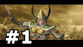 Kessen 2 Walkthrough Part 1 (Liu Bei) - No Commentary Playthrough (PS2)